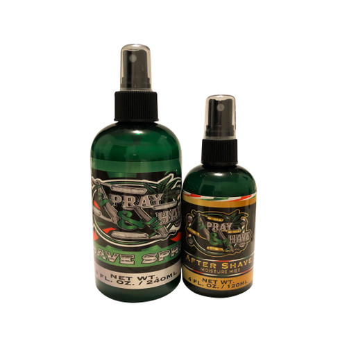 SPRAY AND SHAVE SET