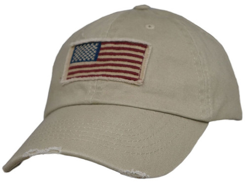 Dorfman Pacific Vintage American Flag Cap