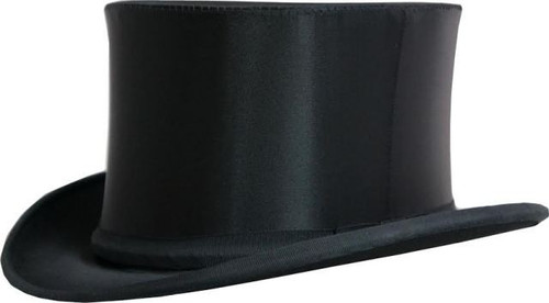 Krieger Satin Folding Opera Hat