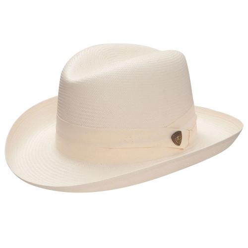 Dobbs Shantung El Dorado Homburg Straw Hat