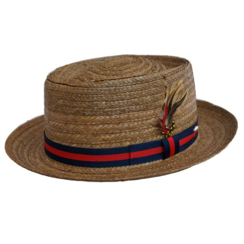 Capas Coconut Straw Pork Pie Hat