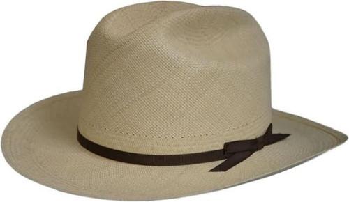 Stetson Panama Open Road Western Straw Hat