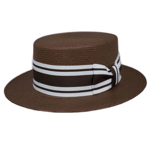 Capas Shantung Skimmer Hat