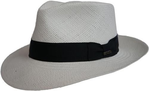 Dorfman Pacific P180 Panama Pinchfront Straw Hat