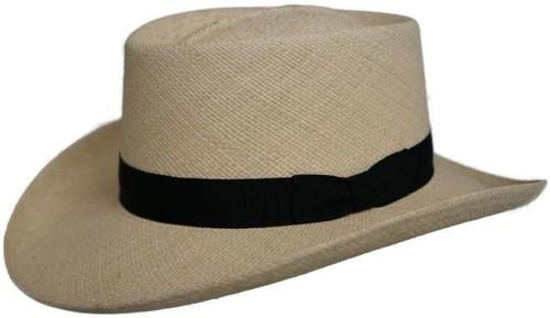 Dorfman Pacific Grade 6 Panama Gambler Hat