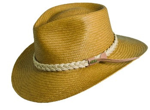 Dorfman Pacific P122 Panama Outback Straw Hat