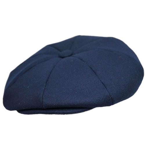 Capas Melton Wool 8/4 Newsboy Cap
