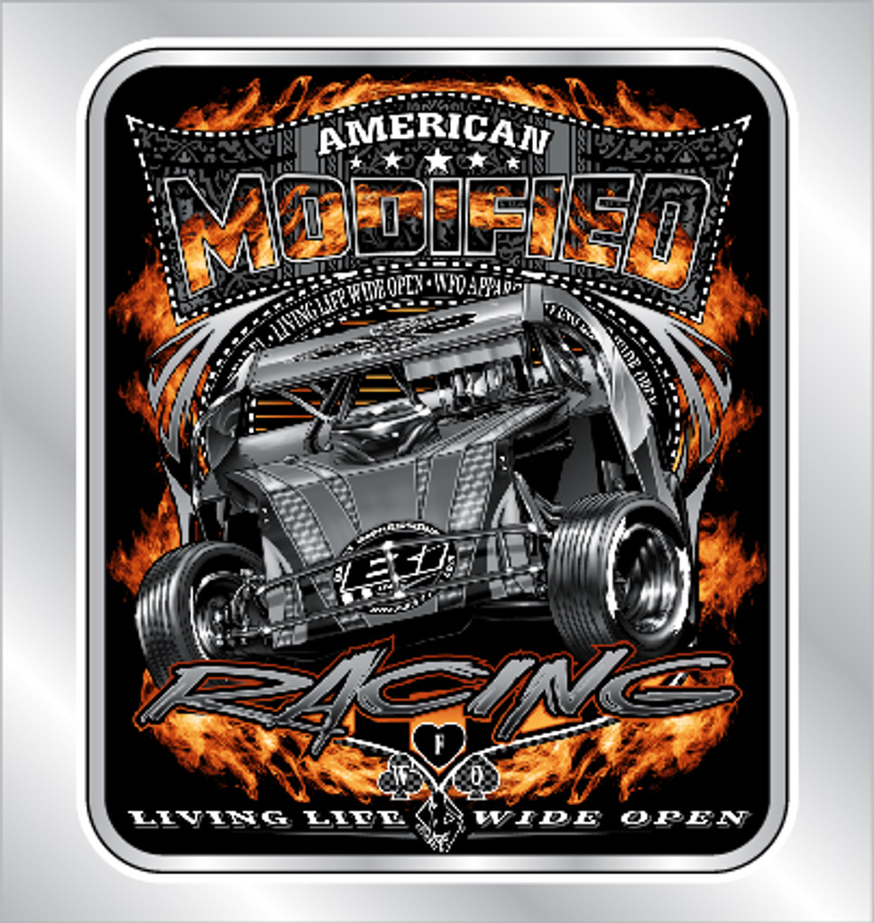 American Modified decal