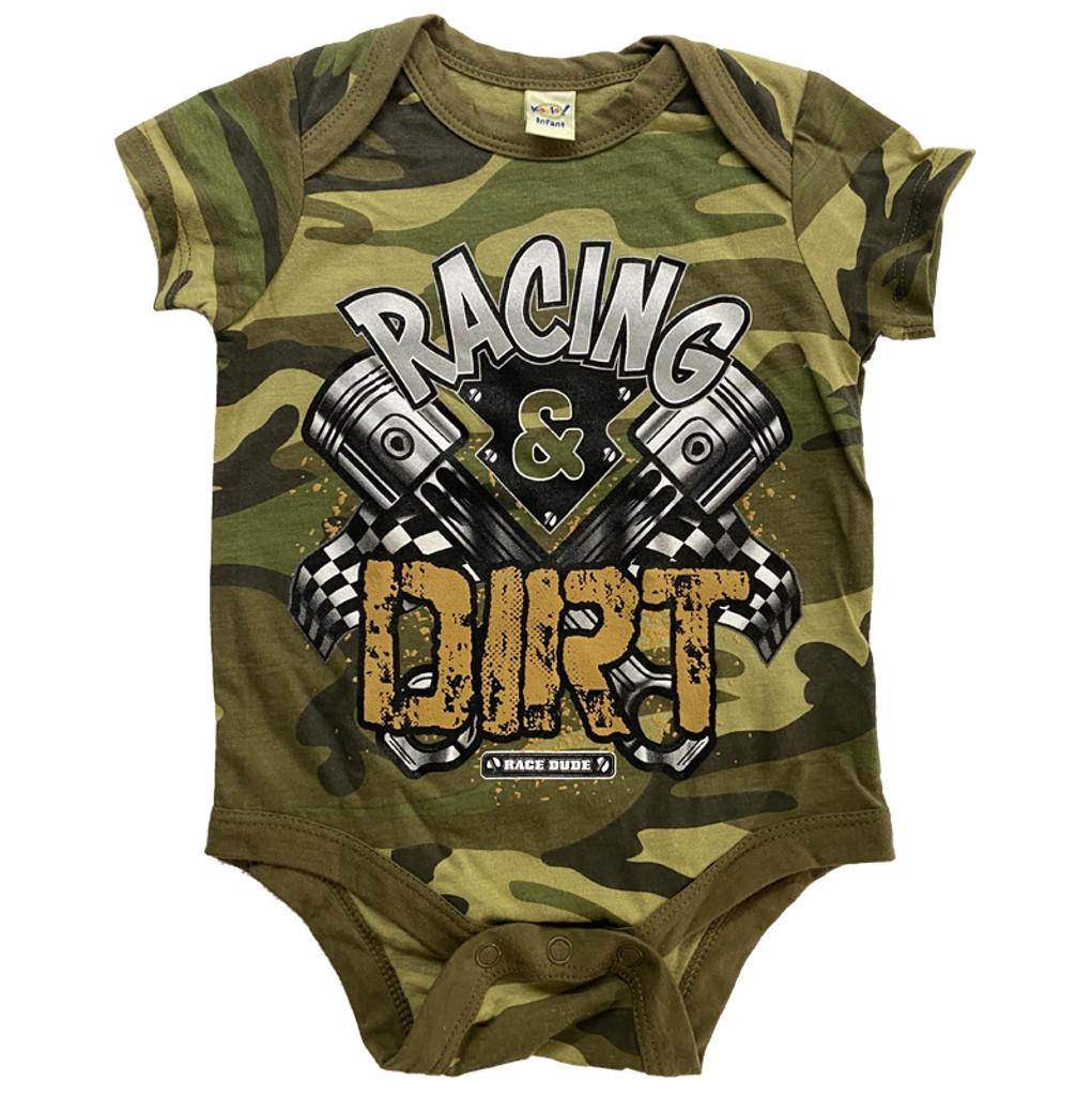 RACING & DIRT INFANT CAMO