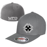WFO CURVED BILL flex fit  gray
