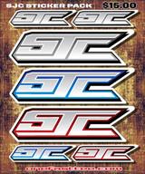 """SJC STICKER PACK 8"""" x 10"""""""