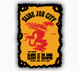 SJC FIRE DECAL 3.5 X 5""