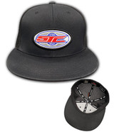 SJC usa patch flatbill trucker mesh blk