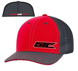SJC logo 404 trucker mesh red/gray