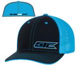 SJC logo 404 trucker mesh blk/blue