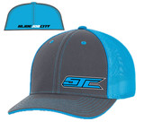 SJC logo 404 trucker mesh gray/blue