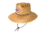 SJC oval FLAG STRAW HAT