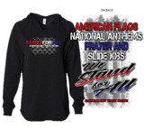 WE STAND FOR ALL womens Hoodie