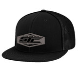 SJC LEATHERPATCH 4D5 BLACK FLEX