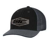 SJC LEATHERPATCH 404 BLACK/GRAY FLEX