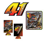 Carson Macedo decals-coozie