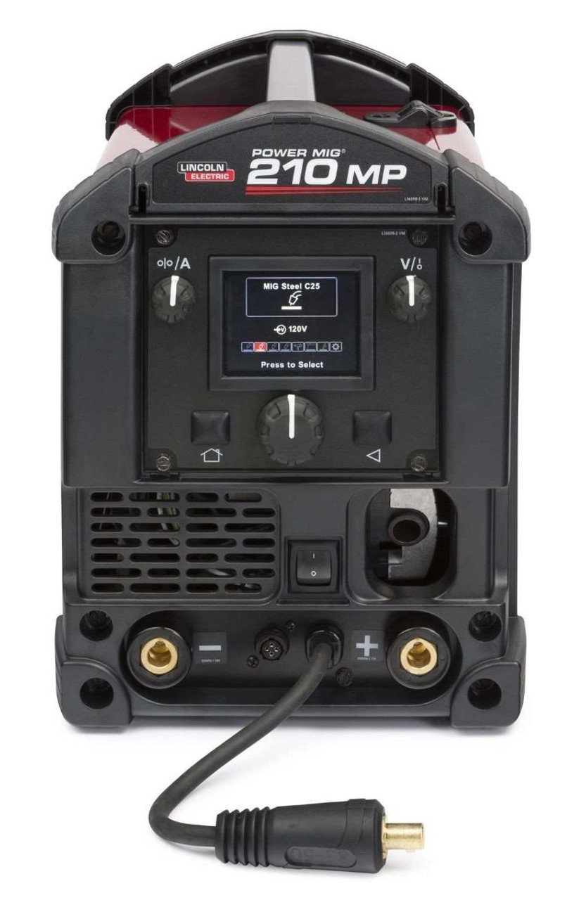 Lincoln Electric Lincoln Electric Power Mig 210 MP Multi-Process Welder - K3963-1