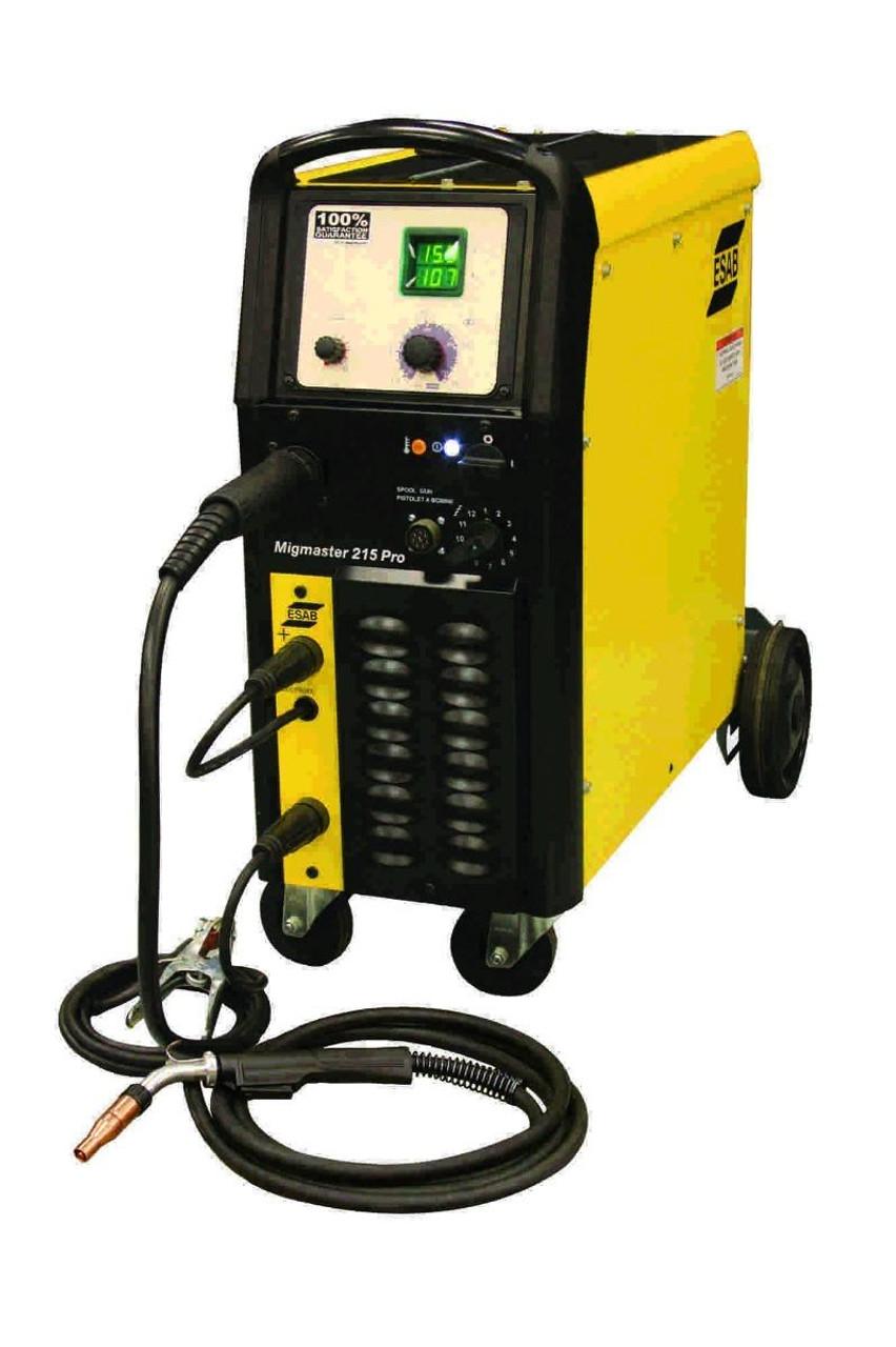 ESAB ESAB - MIGMASTER 215 PRO READY TO WELD PKG w/SPRAY MASTER 250 - 0558101322