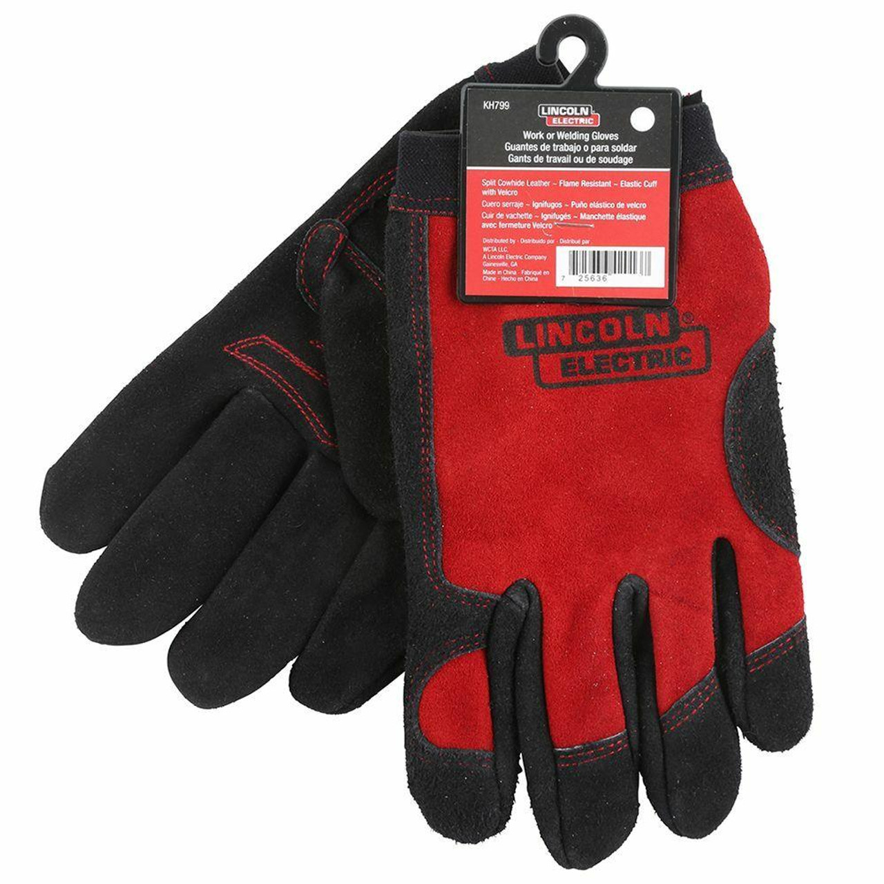 Lincoln Electric Lincoln Electric FULL LEATHER WELDING /WORK GLOVES