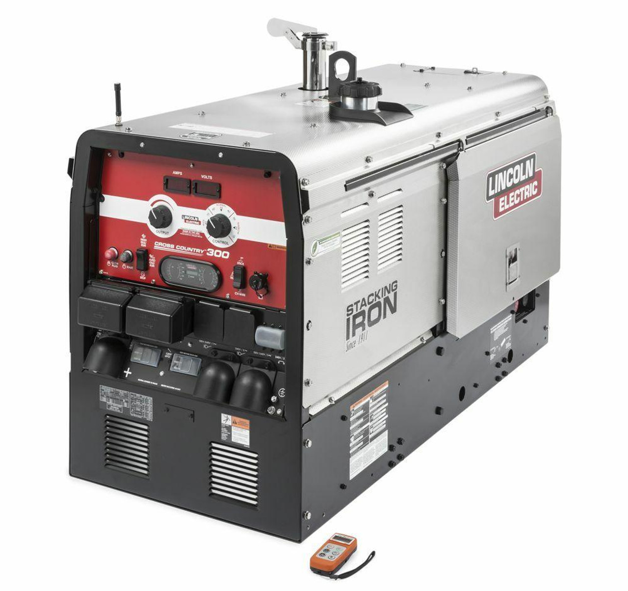 Lincoln Electric Lincoln Electric Cross Country 300 Engine Drive Welder KUBOTA SS w/ Wireless Remote Control - K4166-3