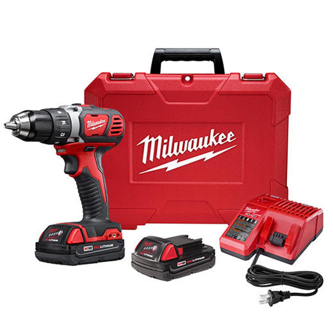 Milwaukee MILWAUKEE ELECTRIC - M18 1/2 DRIVER DRILL CP KIT 2606-22CT