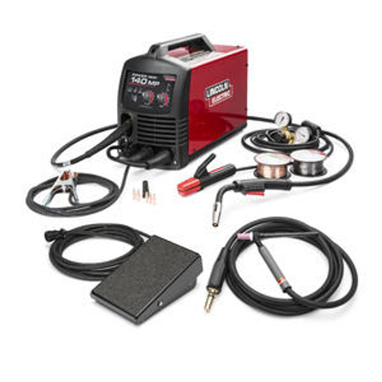 Lincoln Electric Lincoln Electric Power MIG 140 MP Multi-process Welder TIG ONE-PAK - K4499-1