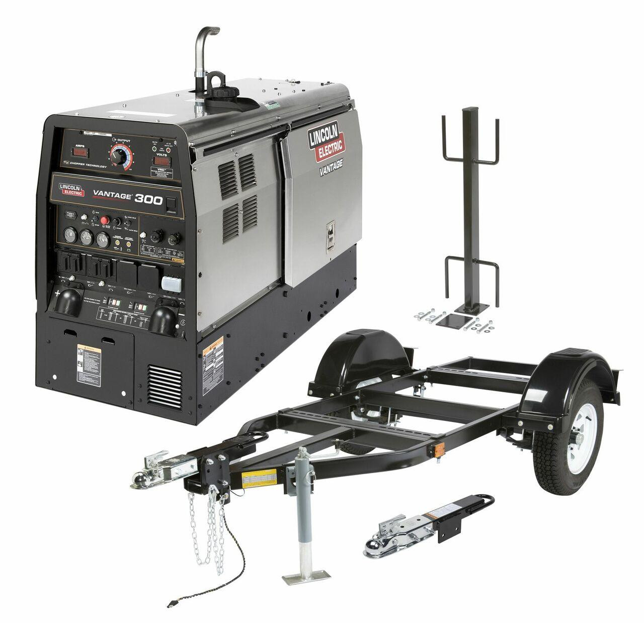 Lincoln Electric Lincoln Electric VANTAGE 300 KUBOTA ONE-PAK ENGINE DRIVE - K2452-5 Blow Out Price