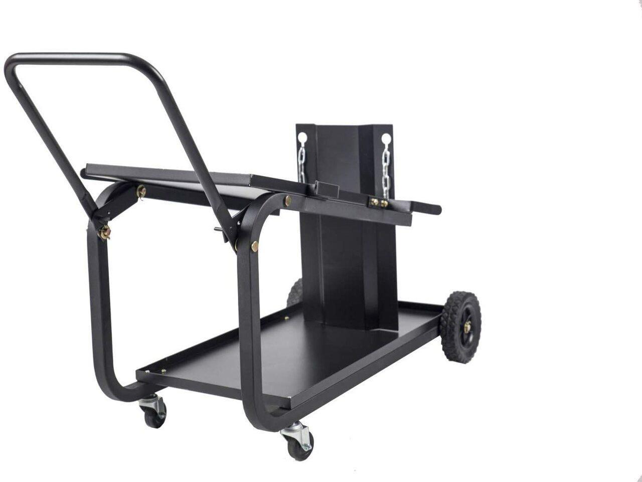 Metalman Metal Man Universal Welding Cart With Fold Down Handle - UWC2XL