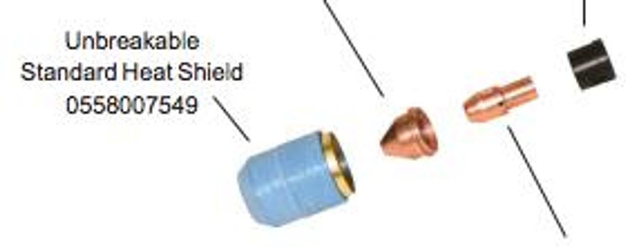 ESAB ESAB - PLASMA TORCH SHIELD CUPS – 0558007549