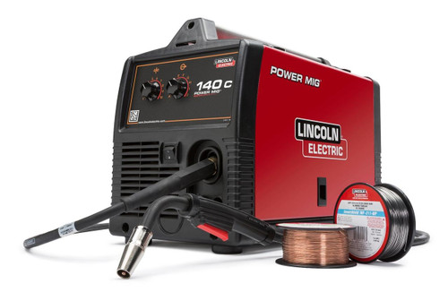 Lincoln Electric Lincoln Electric Power MIG 140C MIG Welder - K2471-2 Discontinued