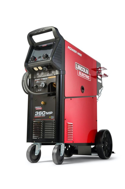 Lincoln Electric The NEW Lincoln Electric Power MIG 360MP Multi-Process Welders