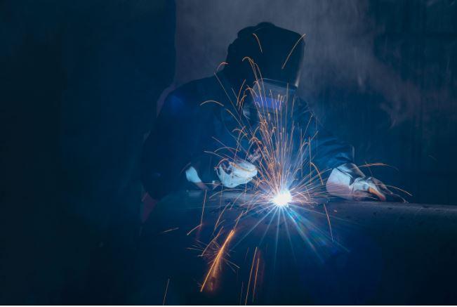 Clean air inside metal fabrication facilities.
