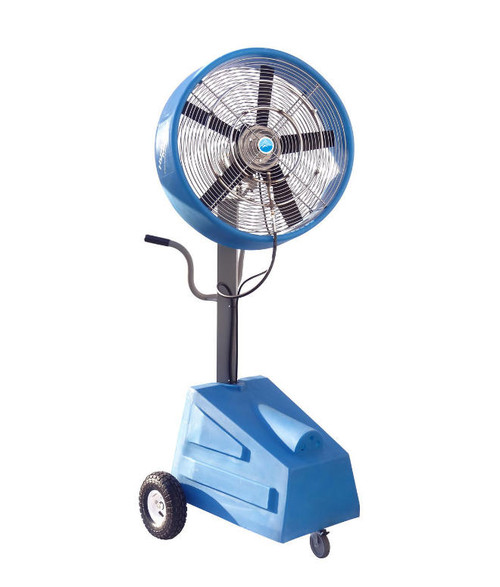 "Ventomist 24"" Heavy Duty Portable Misting Fan with 1000PSI Misting Pump"
