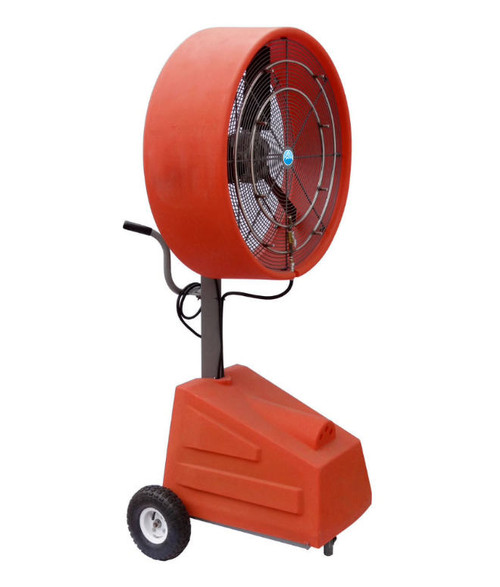 "Ventomist 30"" Heavy Duty Portable Misting Fan with 1000PSI Misting Pump"