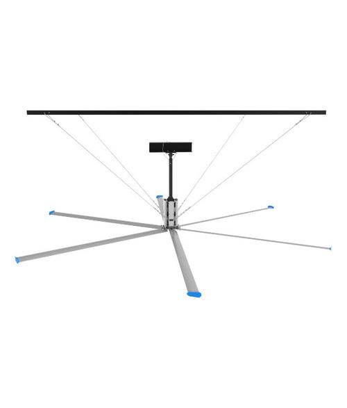 HVLS Industrial Ceiling Fans - 24 Feet Length Blades