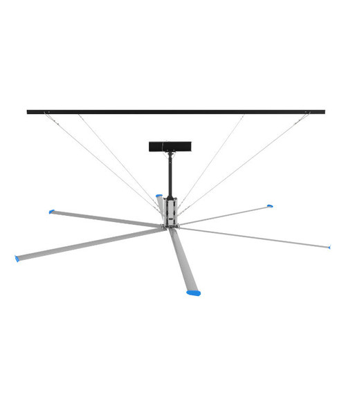 HVLS Industrial Ceiling Fans - 24 Feet Length Blades