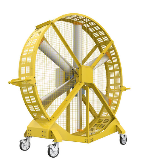 HVLS Large Portable Floor Fan