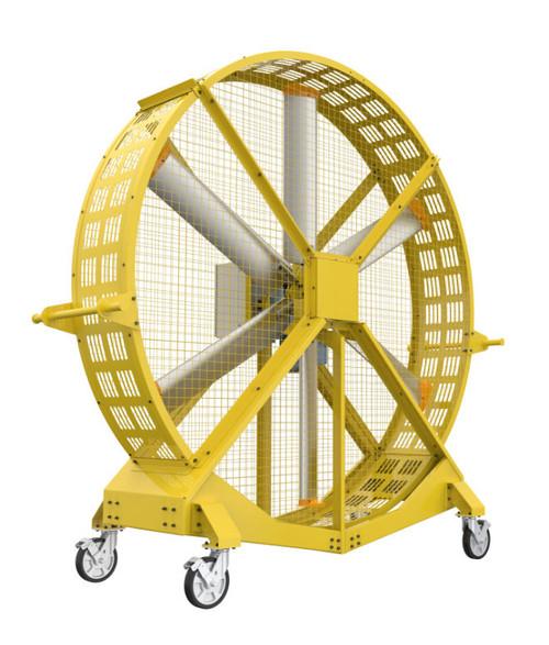 HVLS Large Portable Floor Fan