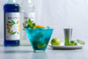 Monin Classic Flavored Syrups - 750 ml. Glass Bottle: Blue Curacao