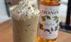 Monin Classic Flavored Syrups - 750 ml. Glass Bottle: Hazelnut