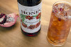 Monin Classic Flavored Syrups - 750 ml. Glass Bottle: Pomegranate