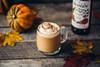 Monin Classic Flavored Syrups - 750 ml. Glass Bottle: Pumpkin Spice