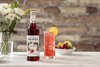 Monin Classic Flavored Syrups - 750 ml. Glass Bottle: Strawberry