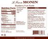Monin Fruit Puree - 1L Plastic Bottle: Blueberry