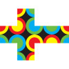 Circles United 3x3 Puzzle Cube by V-CUBE